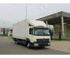 ② MERCEDES 818 ATEGO 4X2 - 2017 - EURO 6 - 164.300 KM - KOFFER - CAMIONS