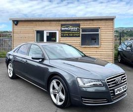 2013 AUDI A8 3.0 TDI QUATTRO SPORT EXECUTIVE 4DR FOR SALE IN DOWN FOR £16,995 ON DONEDEAL