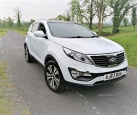 USED 2014 KIA SPORTAGE 3 CRDI NOT SPECIFIED 82,000 MILES IN WHITE FOR SALE | CARSITE