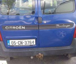 CITROEN BERLINGO 1.6 VAN FOR SALE IN CAVAN FOR €1,150 ON DONEDEAL