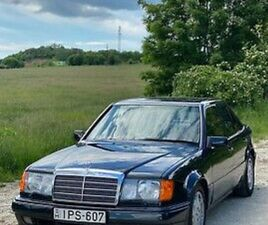 1991 W124 500E WELL DOCUMENTED HISTORY 230.000 KM