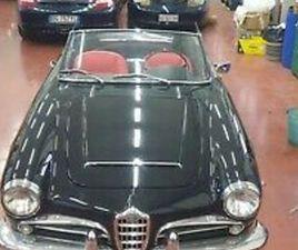 ALFA ROMEO GIULIA SPIDER 1600 CC 1964 BOLT AND NUTS RESTORATION MAY PX