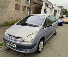 CITREON PICASSO,DIESEL , £795.00 OVNO,, GREAT DRIVING CAR BIG BOOT , FOLDS INTO A VAN