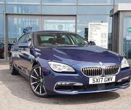 BMW 6 SERIES GRAN COUPE 640I SE GRAN COUPE 3.0 4DR