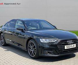 2021 AUDI A8 3.0 50 TDI BLACK EDITION - £54,999