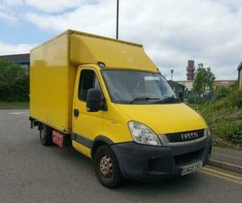 IVECO DAILY S CLASS 2.3TD 35S11 MWB LUTON BOXED VAN WITH TAIL LIFT MOT 06/2022