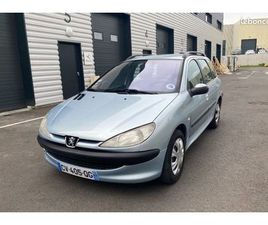 PEUGEOT 206 SW 2.0 HDI 90CH X LINE