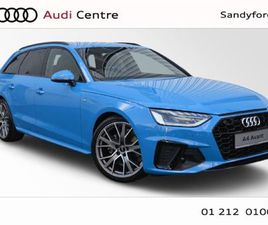 AUDI A4 AVANT NEW 30 TDI 136HP S-TRONIC S-LINE BL FOR SALE IN DUBLIN FOR €59,117 ON DONEDE