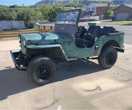 FOR SALE: 1947 JEEP WILLYS IN CADILLAC, MICHIGAN