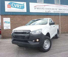 ISUZU D-MAX 1.9 TDI SINGLE CAB. PRICE PLUS VAT FOR SALE IN MEATH FOR €26,950 ON DONEDEAL