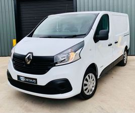 2018 RENAULT TRAFIC 1.6 DCI SL27 SPORT FOR SALE IN TYRONE FOR £14,975 ON DONEDEAL