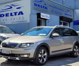 2015 SKODA OCTAVIA COMBI SCOUT DSG NCT 06/23 FOR SALE IN DUBLIN FOR €15,900 ON DONEDEAL