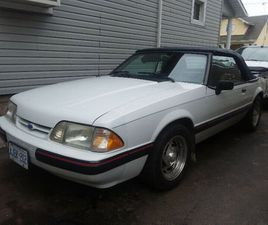 1989 FORD MUSTANG LX CONVERTIBLE | CLASSIC CARS | ST. CATHARINES | KIJIJI