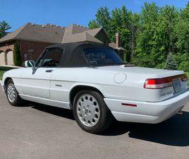 1991 ALFA ROMEO SPIDER VELOCE | CLASSIC CARS | CAMBRIDGE | KIJIJI