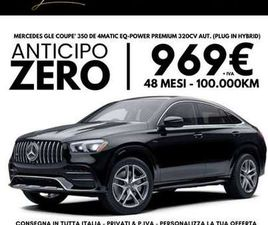 MERCEDES-BENZ GLE 350 PREMIUM NOLEGGIO LUNGO TERMINE ANTICIPO ZERO