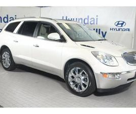 WHITE COLOR 2011 BUICK ENCLAVE CXL CXL-2 FOR SALE IN CHANTILLY, VA 20151. VIN IS 5GAKRCED3