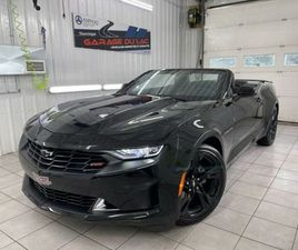 2019 CHEVROLET CAMARO 1LT RS CONV. V6 - BAS KM - SHOWROOM - BOSE   CARS & TRUCKS   SHAWINI
