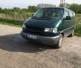 VW T4 MULTIVAN BJ.98 2,5TD 102 PS TÜV DEZ 22 AHK SD KLIMA TEMPOM
