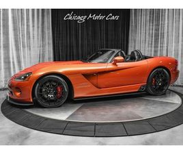 2005 DODGE VIPER SRT-10 CONVERTIBLE COPPERHEAD EDITION STUNNING EXAMPLE! SERVICED!