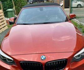 BMW 218 I CABRIO M PAKKET