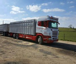 SCANIA R440 CATTLE LORRY AND DRAG FOR SALE IN DERRY FOR £123,456 ON DONEDEAL
