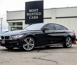 USED 2017 BMW 4 SERIES 430I XDRIVE GRAN COUPE M-SPORT HUD H/K AUDIO NAV CAMERA