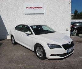 SKODA SUPERB AUTOMATIC 5DR AMBITION GREAT SPEC! FOR SALE IN CORK FOR €25,995 ON DONEDEAL
