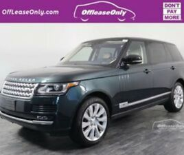 2017 LAND ROVER RANGE ROVER V8 SUPERCHARGED AWD