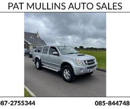 ISUZU D-MAX AUTOMATIC CREWCAB FOR SALE IN CORK FOR €10,950 ON DONEDEAL