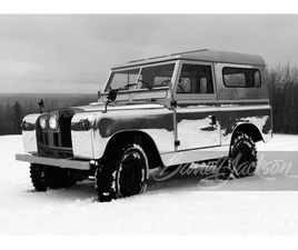 FOR SALE AT AUCTION: 1963 LAND ROVER SERIES IIA IN LAS VEGAS, NEVADA