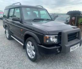 2004 LANDROVER DISCOVER 2.5 TD5 PURSUIT 7 SEAT 5DR 4X4 REMAPPED