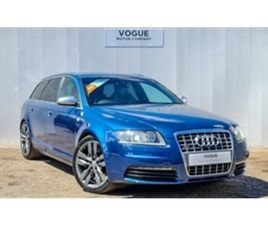 USED 2008 AUDI A6 5.2 S6 V10 5D 435 BHP ESTATE 85,000 MILES IN BLUE FOR SALE   CARSITE