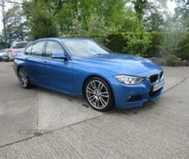 USED 2013 BMW 3 SERIES M SPORT AUTO SALOON 128,000 MILES IN BLUE FOR SALE   CARSITE