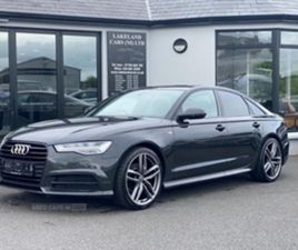 USED 2015 AUDI A6 S LINE TDI ULTRA S-A SALOON 112,000 MILES IN GREY FOR SALE | CARSITE