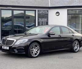 USED 2014 MERCEDES-BENZ S CLASS AMG LINE BLUETEC AUT SALOON 80,000 MILES IN BLACK FOR SALE