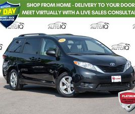 USED 2016 TOYOTA SIENNA LE 8 PASSENGER PARKING CAMERA   POWER WINDOWS AND DOORS
