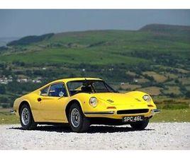 1972 FERRARI 246GT DINO 42000 MILES DETAILED & INTERESTING HISTORY.