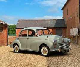 1958 MORRIS MINOR 1000. LAST OWNER 11 YEARS & RESTORED DURING THIS TIME.
