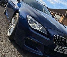 BMW 6 SERIES GRAN COUPE 3.0 640D M SPORT GRAN COUPE AUTO (S/S) 4DR
