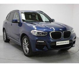 BMW X3 SERIES X3 XDRIVE20D M SPORT 2.0 5DR