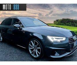 2019 AUDI A4 AVANT 2.0 40 TDI BLACK EDITION - £28,500