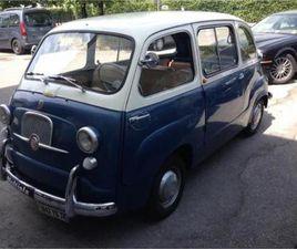 FIAT 600 MULTIPLA 100 D - 1963