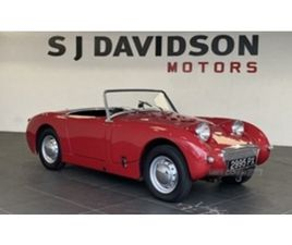 USED 1960 AUSTIN HEALEY SPRITE FROG EYE HEALEY SPRITE FROG EYE COUPE 77,867 MILES IN RED F