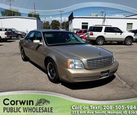BEIGE COLOR 2005 CADILLAC DEVILLE FOR SALE IN NAMPA, ID 83687. VIN IS 1G6KD54Y15U181400. M