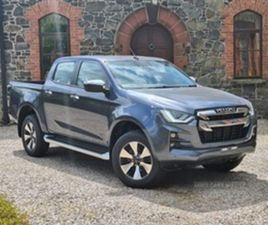 USED 2021 ISUZU D-MAX DL40 NOT SPECIFIED 10 MILES IN OBSIDIAN GRAY METALLIC FOR SALE   CAR