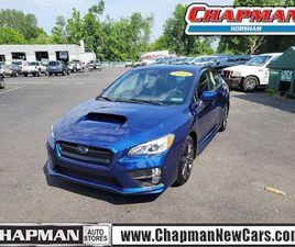 BLUE COLOR 2015 SUBARU WRX BASE FOR SALE IN HORSHAM, PA 19044. VIN IS JF1VA1A61F9828628. M