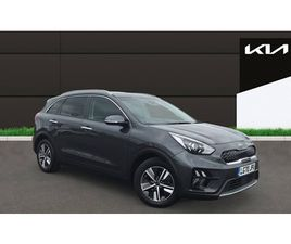 USED 2020 KIA NIRO 1.6 GDI HYBRID 2 5DR DCT NOT SPECIFIED 7,619 MILES IN GREY FOR SALE   C