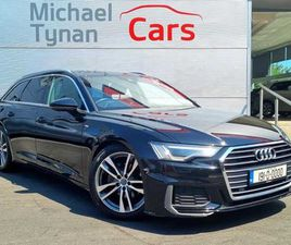 AUDI A6, 2019, 2.0 TDI 40 AVANT, S LINE, TECH PACK FOR SALE IN DUBLIN FOR €49,666 ON DONED
