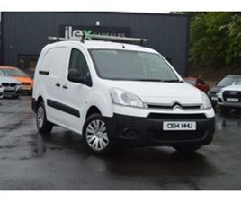 USED 2014 CITROEN BERLINGO 1.6 725 X L2 HDI 5D 90 BHP NOT SPECIFIED 72,000 MILES IN WHITE