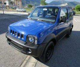 SUZUKI JIMNY 1.3I 16V CAT CABRIO 4WD JLX - AUTO USATE - QUATTRORUOTE.IT - AUTO USATE - QUA